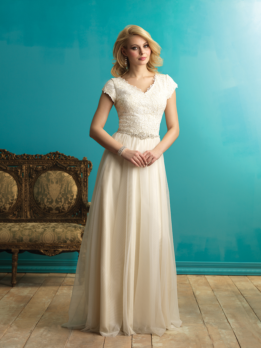 Modest Bridal Gowns Archives - Page 7 of 9 - Petals and Promises Bridal