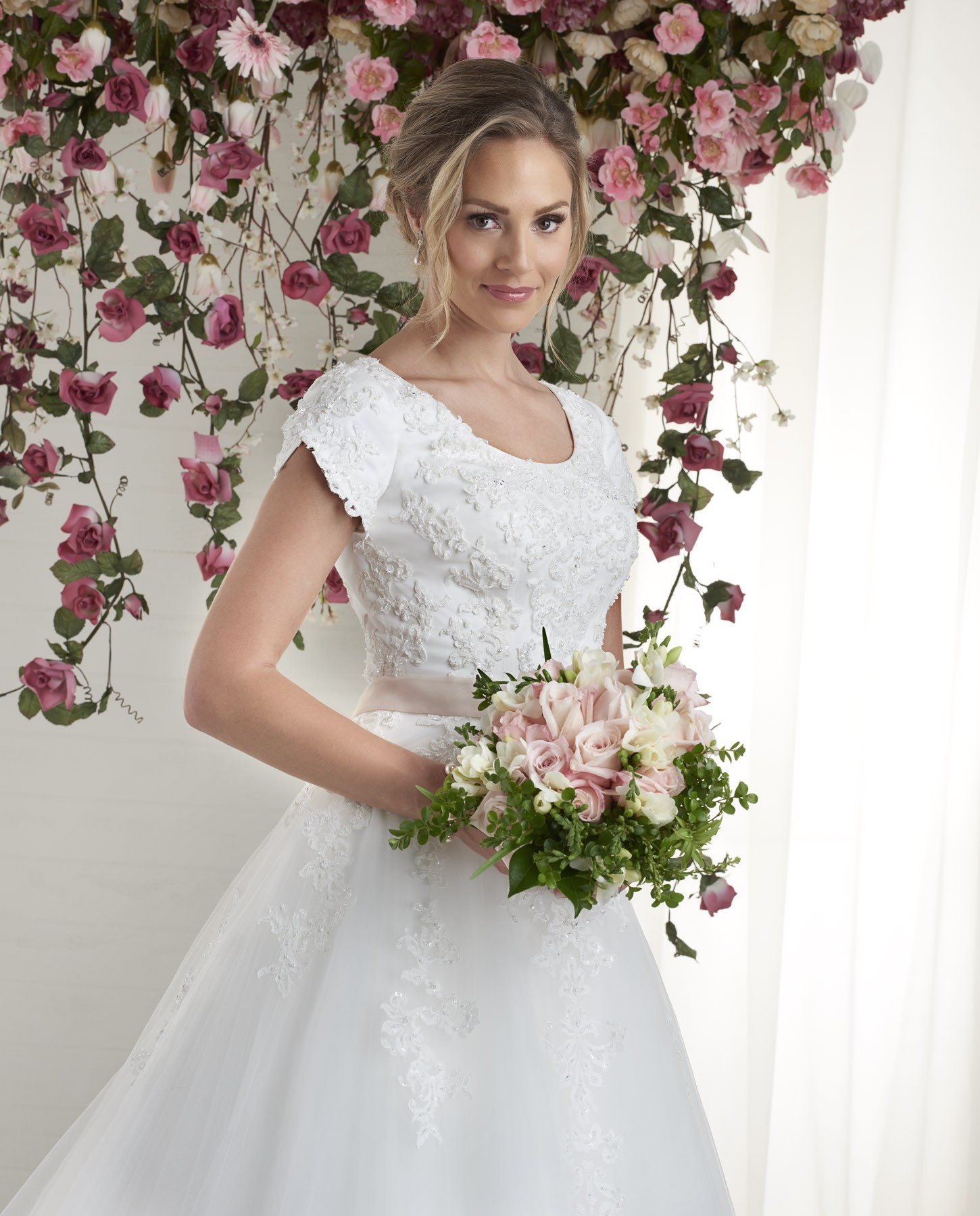 which hair style suits my style 2601 petals and promises bridal 2601
