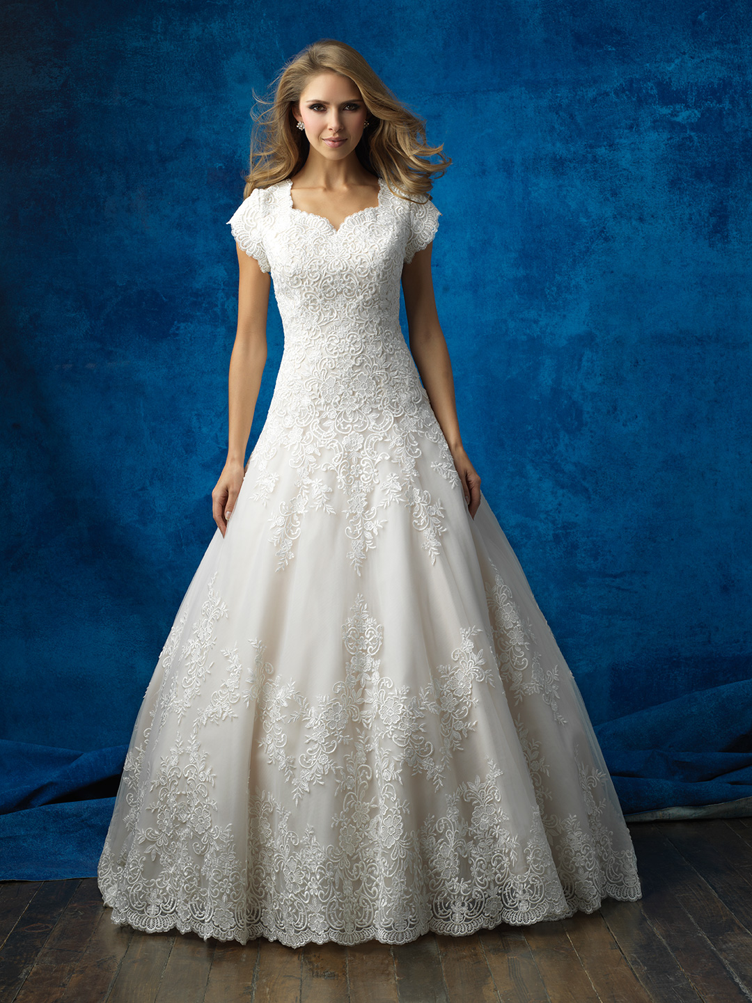 Style M563 Petals and Promises Bridal