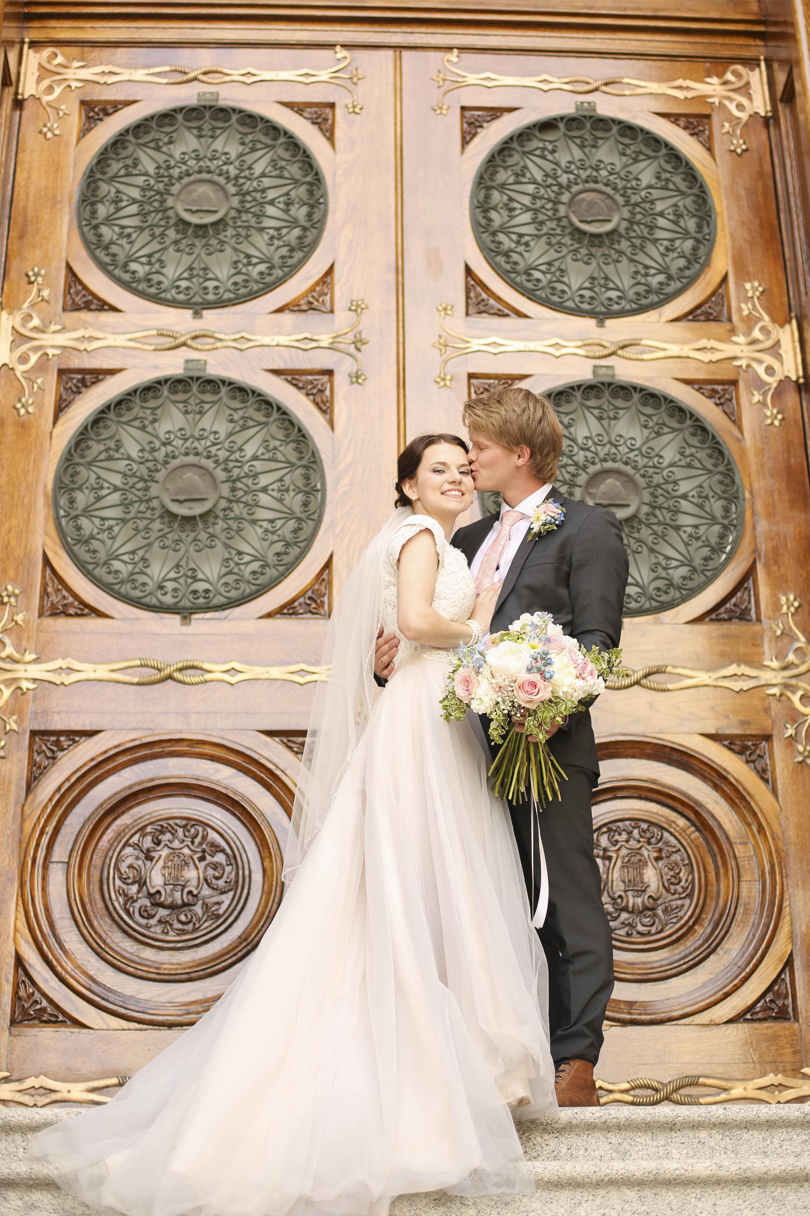 Logan and Tiffany || Petals and Promises Bridal Bride - Petals and ...